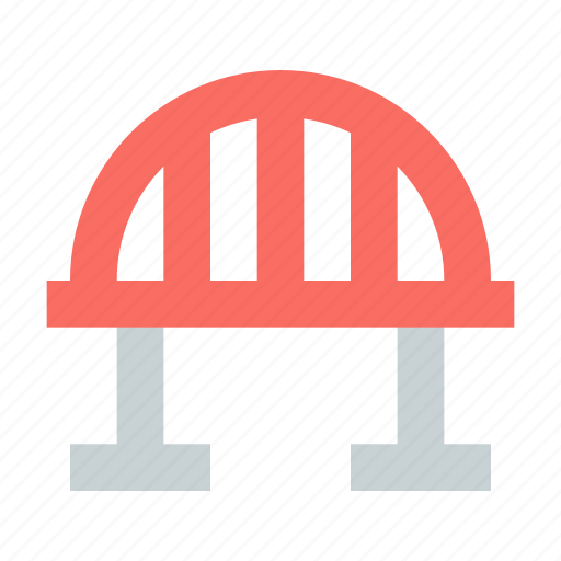 Arch, bridge, cablestayed icon - Download on Iconfinder