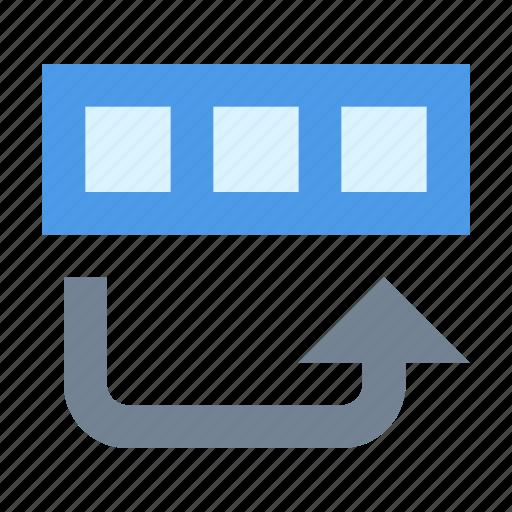 copy, database, row icon