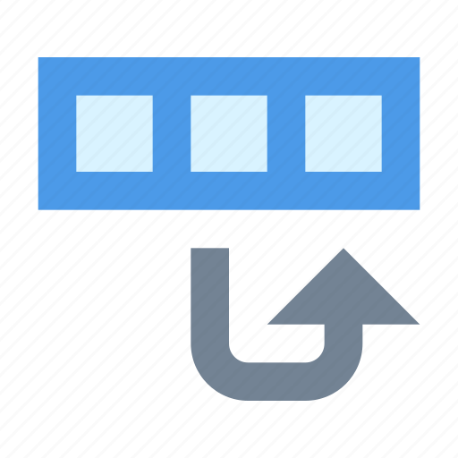 database, move, string icon