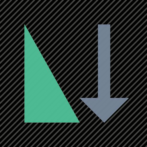 ascending, filter, sort icon