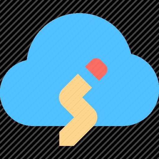 cloud, creative, idea icon