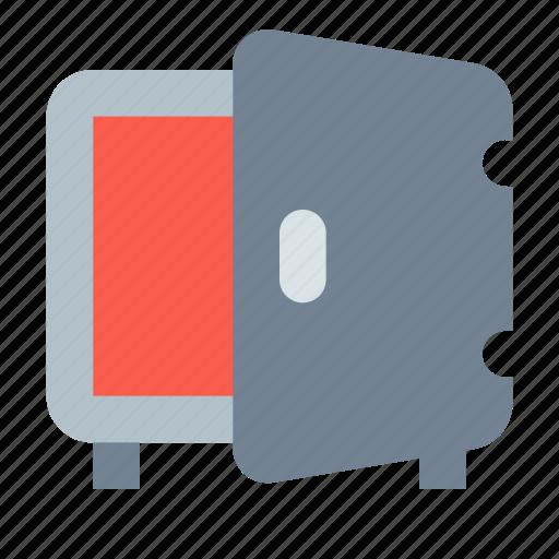 Deposit, open, safe icon - Download on Iconfinder