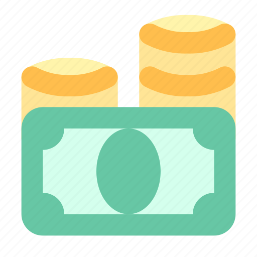 Cash, coins, money icon - Download on Iconfinder