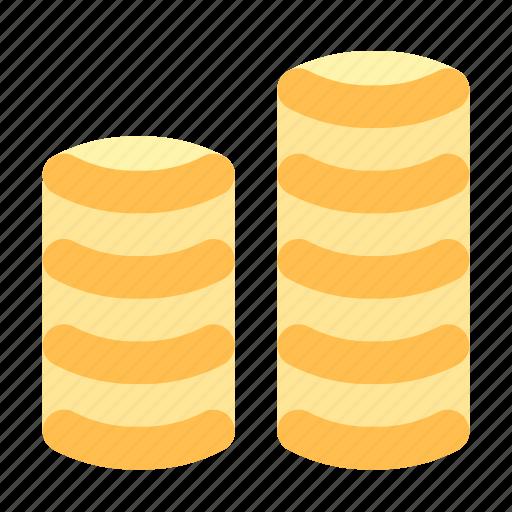 coin, gold, money icon
