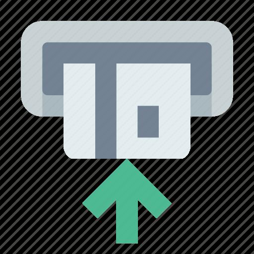 atm, card, dispenser icon