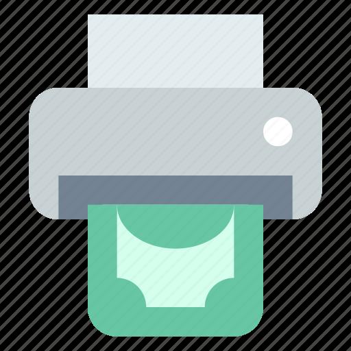 making, money, print icon