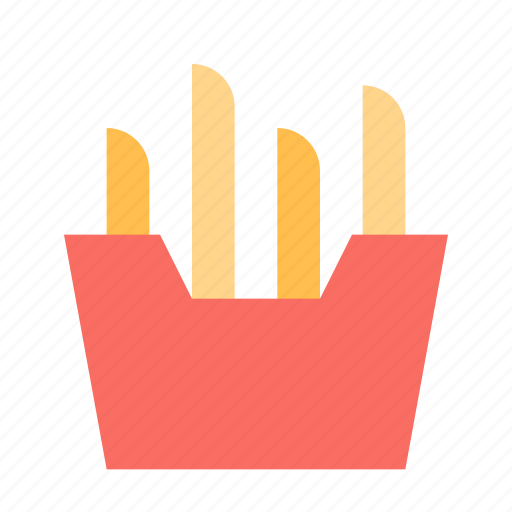 Potato, box, french fries icon - Download on Iconfinder