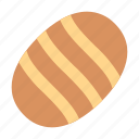 baking, bread, food icon