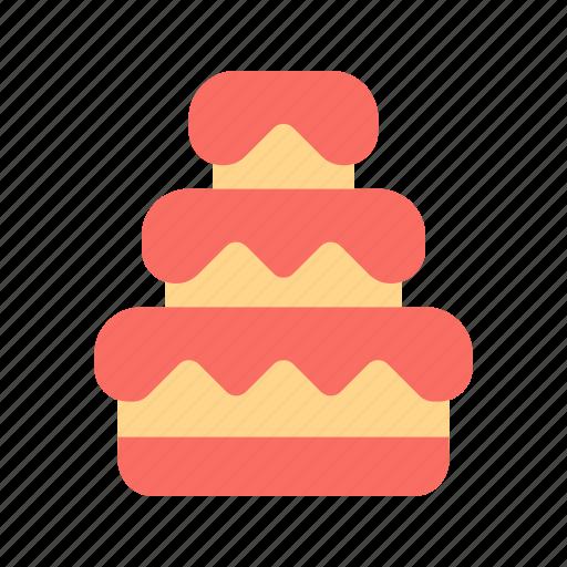 cake, dessert, wedding icon
