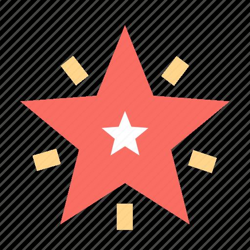 newyear, star, xmas icon