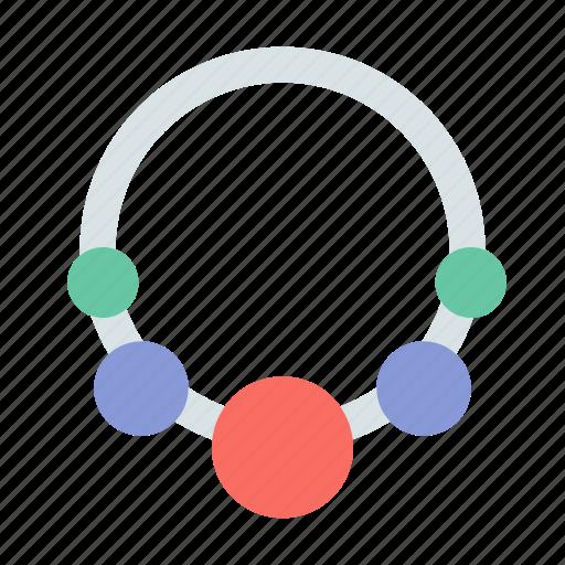 jewel, necklace, present icon