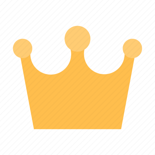 crown, gold, king icon