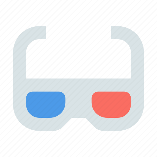 glasses, stereo icon