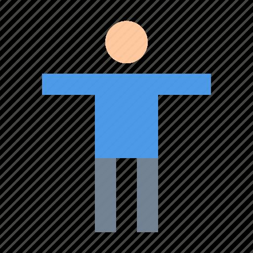 accessibility, human, man icon