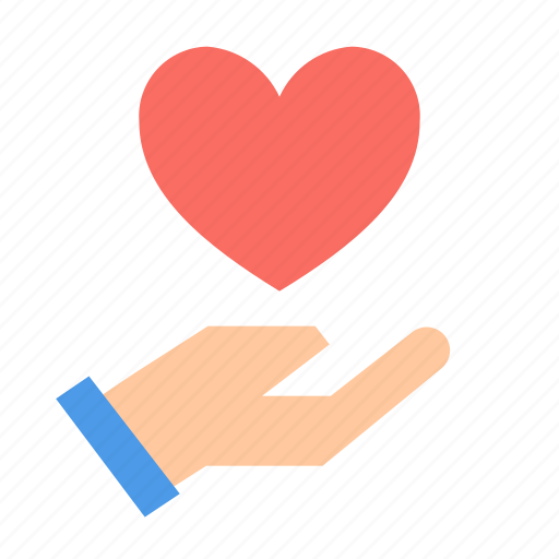 Gift, hand, love icon - Download on Iconfinder on Iconfinder