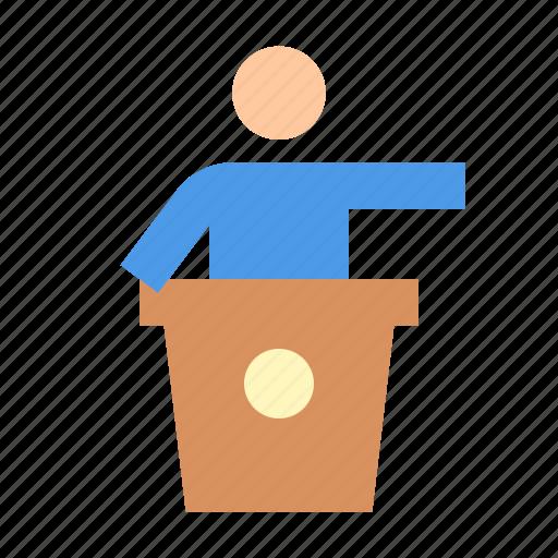 Presentation, speech icon - Download on Iconfinder