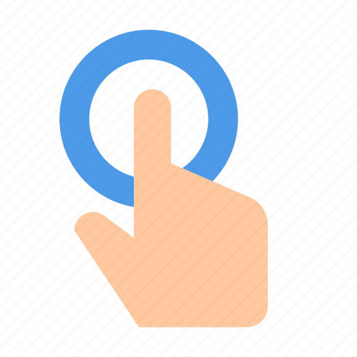 Click, finger, touch icon - Download on Iconfinder