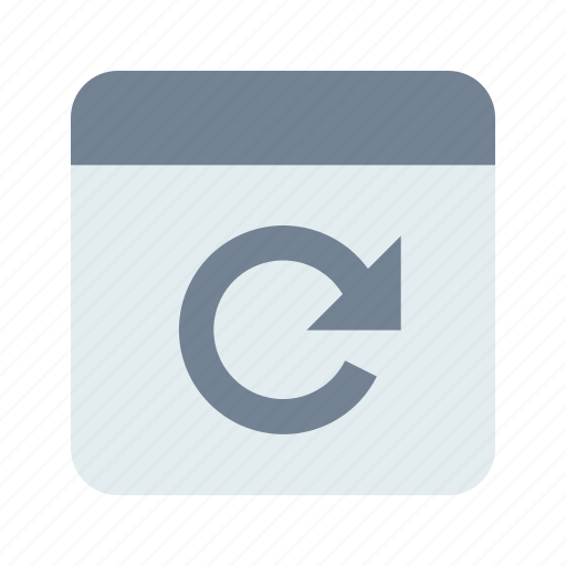 app, application, refresh icon