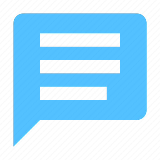 Bubble, message, conversation icon - Download on Iconfinder