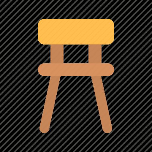 bar, chair, furniture icon