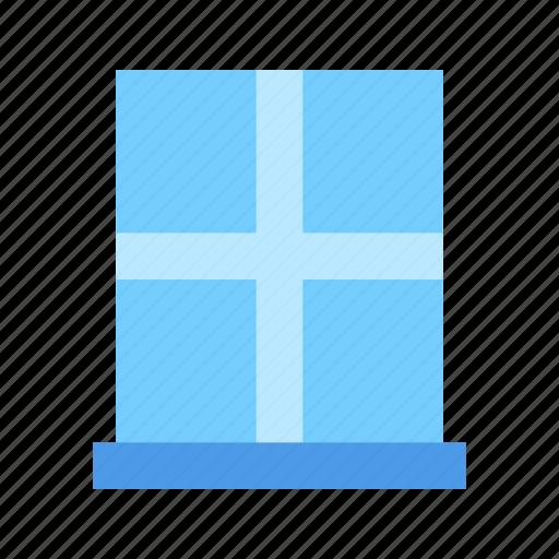 glass, window, windows icon