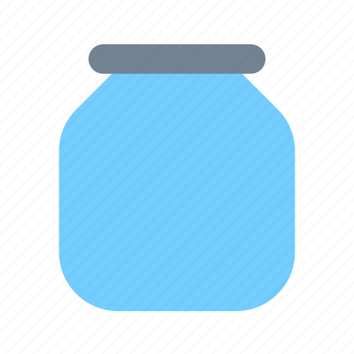 glass, jar icon