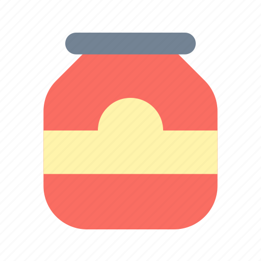 bottle, glass, jam icon