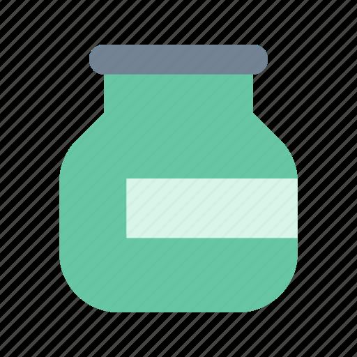 bottle, confiture, pickles icon