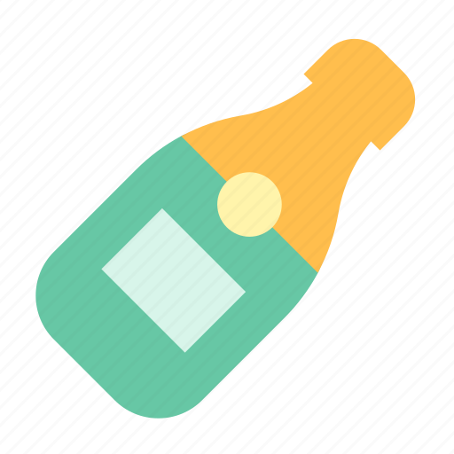 Bottle, champagne, drink icon - Download on Iconfinder
