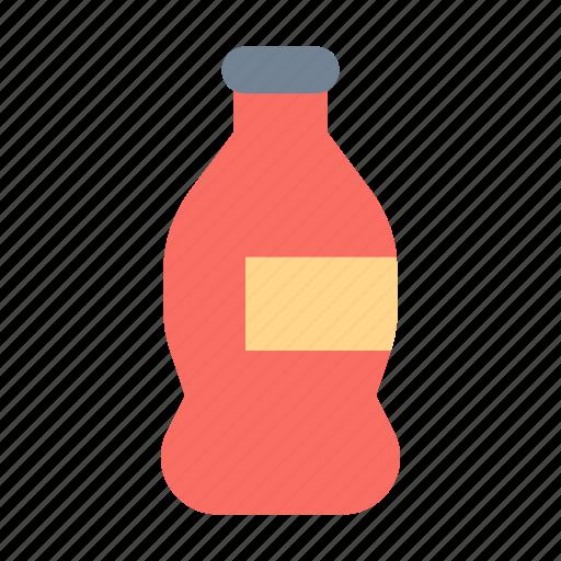 bottle, coke, plastic icon