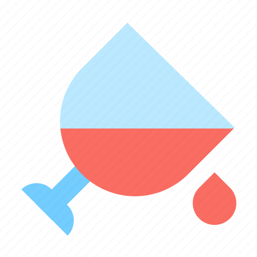 drink, drop, glass icon