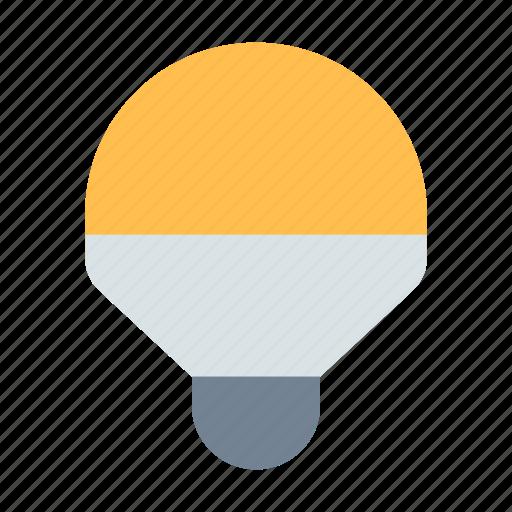 bulb, led, light icon