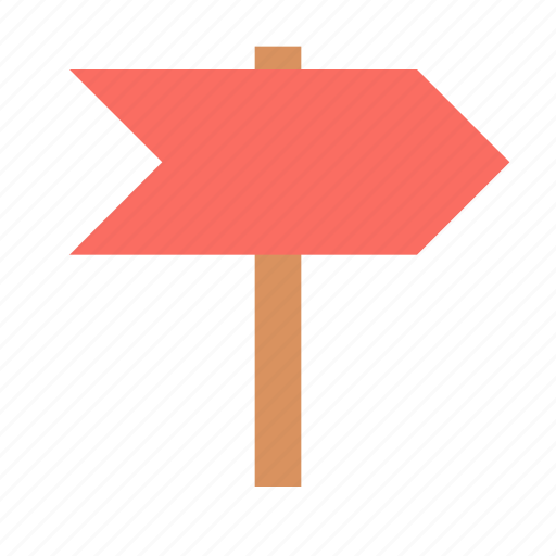 address, direction, pointer, sign icon