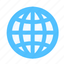 geo, globe, web icon