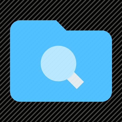 find, folder, storage icon
