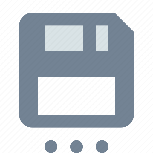 as, diskette, save icon