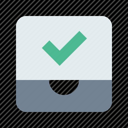Check, inbox, mailbox icon - Download on Iconfinder