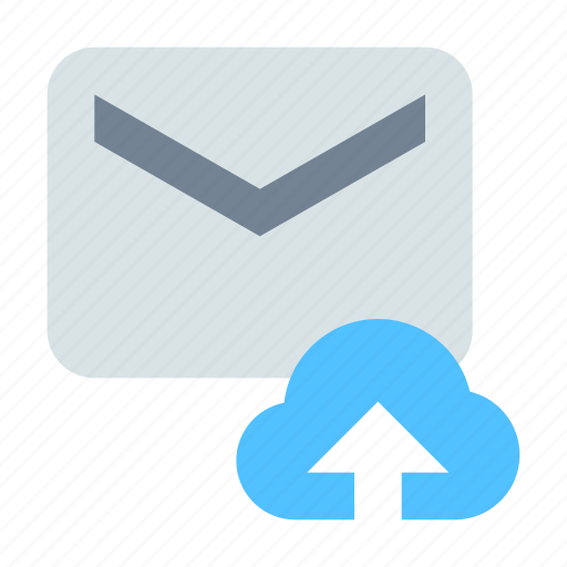 cloud, message icon