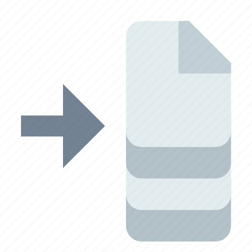 apply, batch, document icon