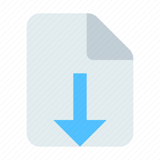 Document, download, export icon - Download on Iconfinder
