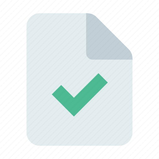 Approve, check, document icon - Download on Iconfinder