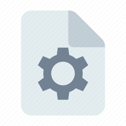Control, document, gear icon - Download on Iconfinder