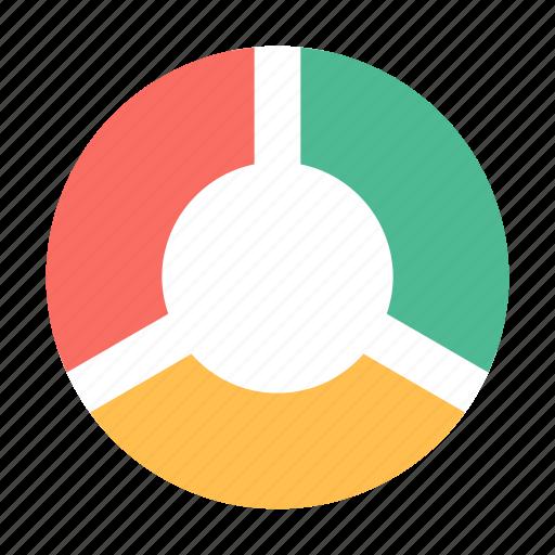 graph, pie chart, stats icon