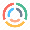 analytics, diagram icon