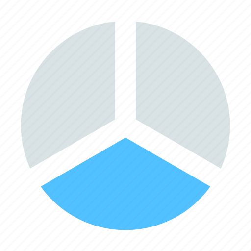 finance, pie chart, report icon