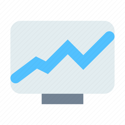 economic, news, tv icon
