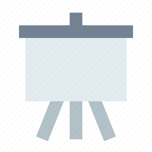 board, easel, presentation icon
