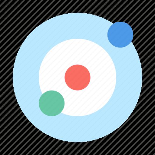astronomy, solar, system icon