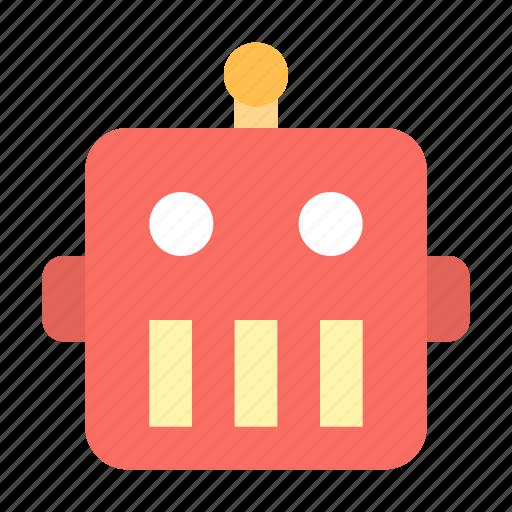 face, robot icon