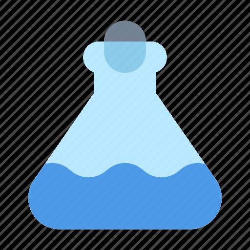 flask, lab, tube icon